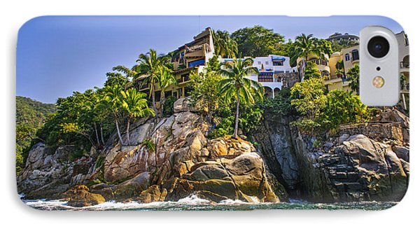 Villas On Rocks IPhone Case by Elena Elisseeva