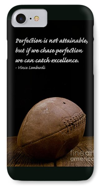 Vince Lombardi On Perfection IPhone 7 Case