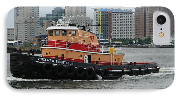 Vincent D Tibbetts Jr Tugboat IPhone Case