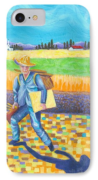 Vincent The Painter In Arles IPhone Case