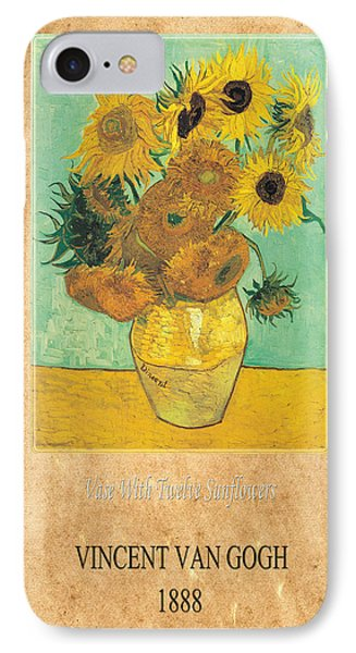 Vincent Van Gogh 2 Phone Case by Andrew Fare