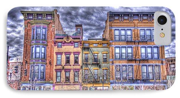 Vine Street IPhone Case by Daniel Sheldon