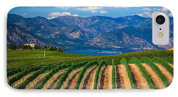 Vineyard In The Mountains IPhone 7 Case