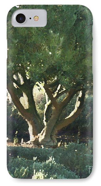 Vineyard Olive Phone Case by Artist and Photographer Laura Wrede