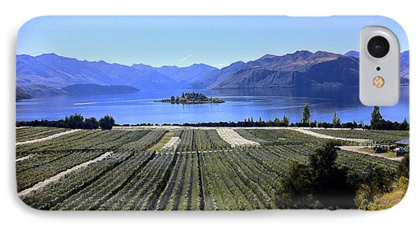 Vineyard View Of Ruby Island IPhone Case by Venetia Featherstone-Witty