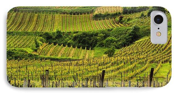 Vineyards Above Ammerschwihr France Phone Case by Greg Matchick