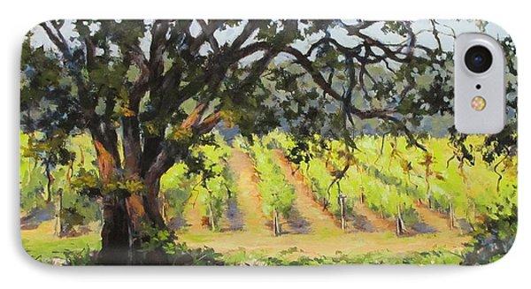 Vineyards Edge Phone Case by Karen Ilari