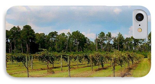 Vineyards Phone Case by Eloise Schneider