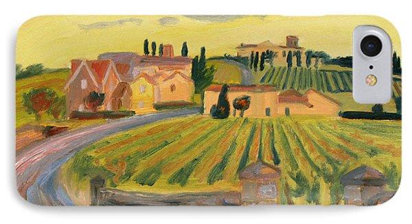 Vineyards Of St. Emilion IPhone Case
