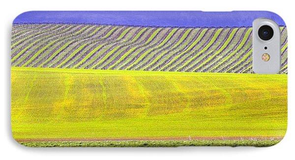 Vineyards Phone Case by Rebecca Cozart