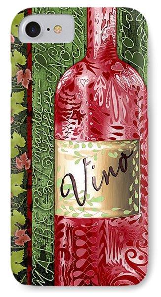 Vino Reds Phone Case by Sharon Marcella Marston