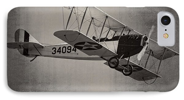 Vintage 1917 Curtiss Jn-4d Jenny Flying  IPhone Case by Keith Webber Jr