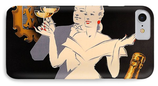 Vintage Ad IPhone Case by Allen Beilschmidt