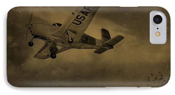 Vintage Air Force Flight World War Two IPhone Case by Dan Sproul