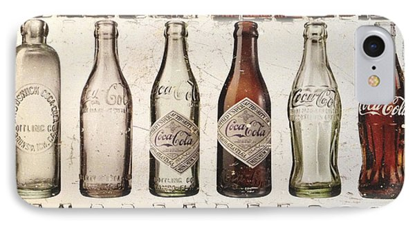 Vintage And Pop Coke IPhone Case by Gina Dsgn