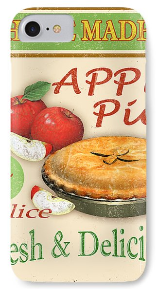 Vintage Apple Pie Sign IPhone Case by Jean Plout