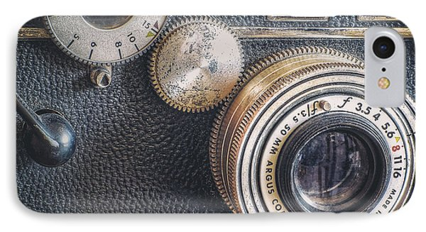 Vintage Argus C3 35mm Film Camera IPhone Case by Scott Norris