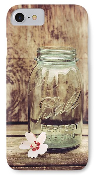 Vintage Ball Mason Jar IPhone Case