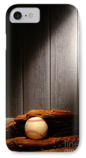 Vintage Baseball Phone Case by Olivier Le Queinec
