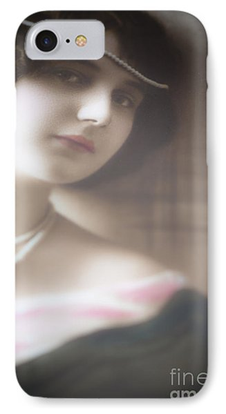 Vintage Beauty IPhone Case by Jan Bickerton