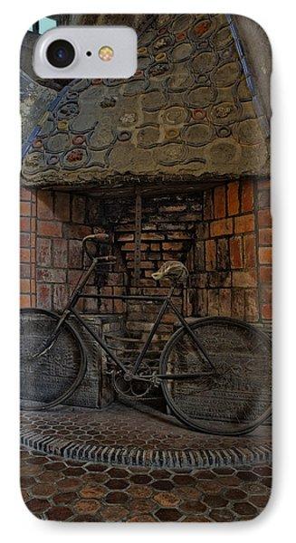 Vintage Bicycle Phone Case by Susan Candelario