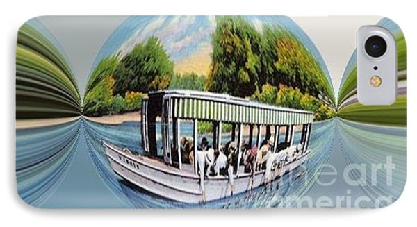 Vintage Boat Candy Phone Case by Annette Allman