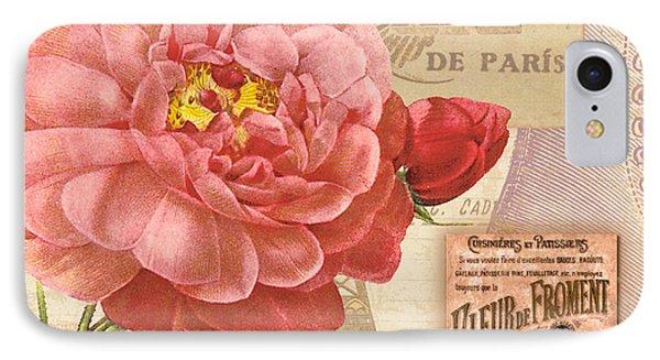 Vintage Botanical II IPhone Case by Marilu Windvand