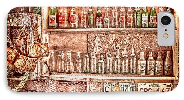Vintage Bottle Collection IPhone Case by Patricia L Davidson