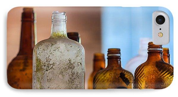 Vintage Bottles Phone Case by Adam Romanowicz
