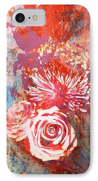 Vintage Bouquet Art IPhone Case