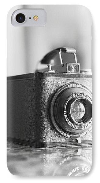 Vintage Brownie Special Six-16 IPhone Case by Jon Woodhams
