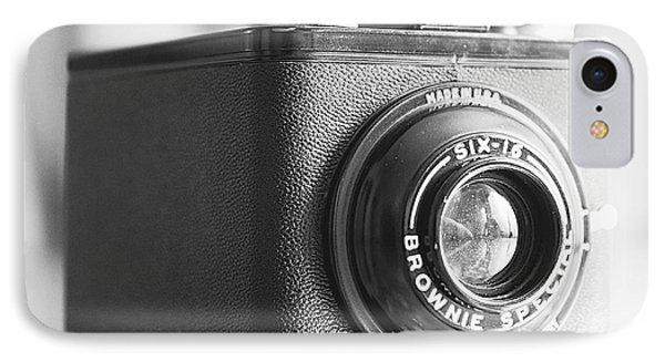Vintage Brownie Special Six-16 - Square IPhone Case by Jon Woodhams