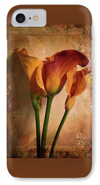 Vintage Calla Lily IPhone Case