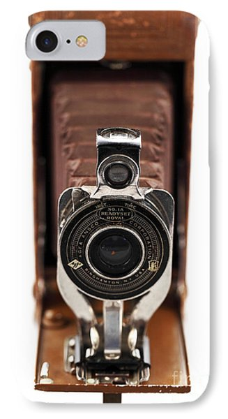 Vintage Camera Phone Case by John Rizzuto