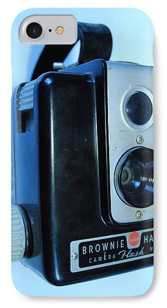 Vintage Camera IPhone Case by Robert  Moss