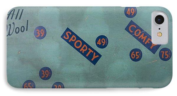 Vintage Cap Sign IPhone Case