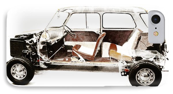 Vintage Car  IPhone Case by Gina Dsgn