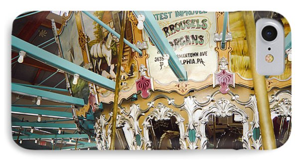 Vintage Carousel IPhone Case by Debra Crank