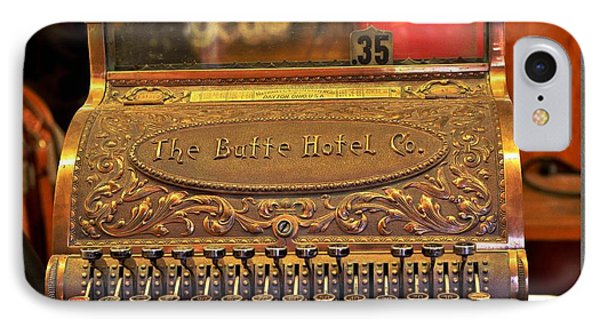 Vintage Cash Register IPhone Case by Kae Cheatham