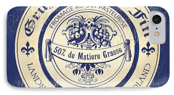 Vintage Cheese Label 5 IPhone Case