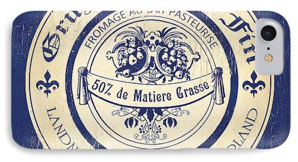 Vintage Cheese Label 5 IPhone Case by Debbie DeWitt
