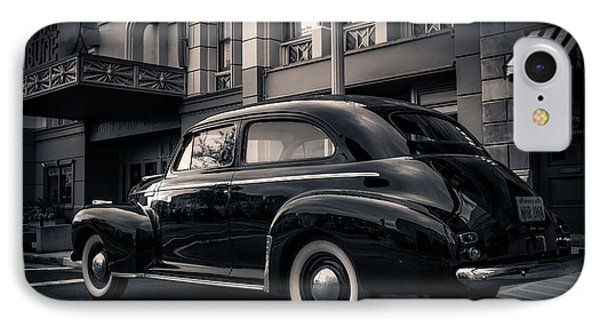 Vintage Chevrolet In 1934 New York City IPhone Case by Edward Fielding