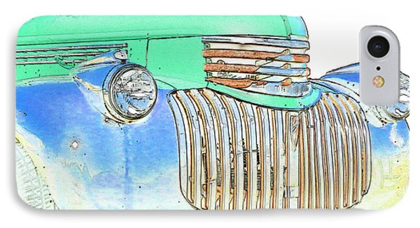 Vintage Chevrolet Pickup 2 Phone Case by Betty LaRue