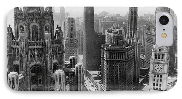 Vintage Chicago Skyline IPhone 7 Case