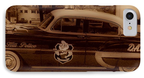 Vintage Classic D.a.r.e. Police Car Phone Case by Thomas  MacPherson Jr