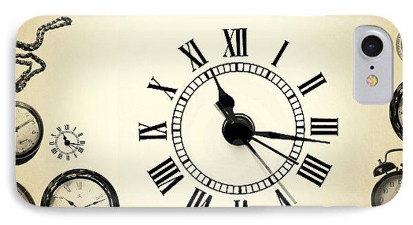 Vintage Clocks IPhone Case
