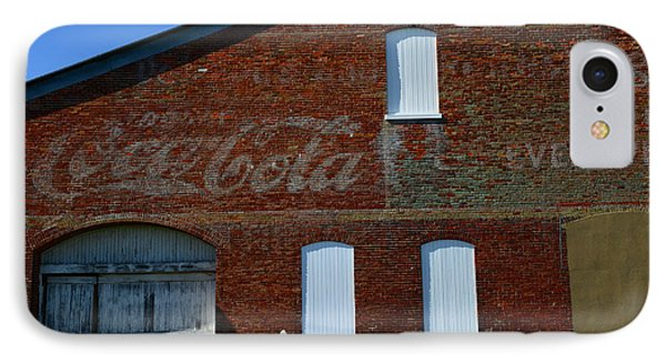 Vintage Coca Cola Ghost Sign Phone Case by Paul Ward