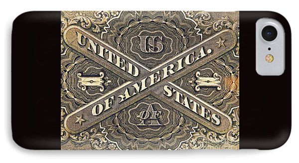 Vintage Currency  Phone Case by Chris Berry