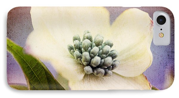 IPhone Case featuring the photograph Vintage Dogwood Blossom by Trina  Ansel