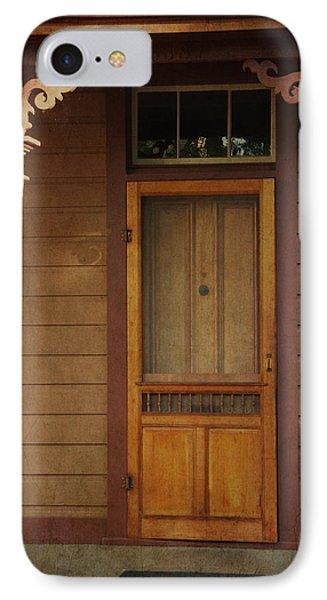 Vintage Doorway IPhone Case by Marilyn Wilson